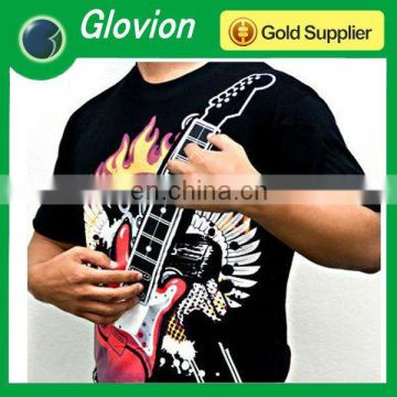 Best seller music guitar T-shirt electronic music t-shirt playable guitar t-shirts