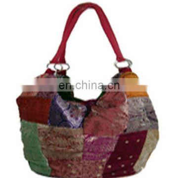 SILK FASHION LADIES ETHNIC HANDBAG