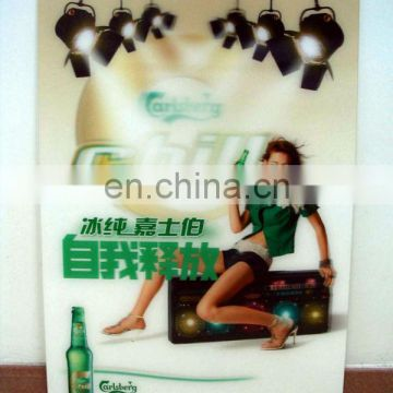 Poster Plastic Sheets Material Advertising Poster