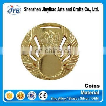 Plated Technique and Business Gift Use Engraved gold coins