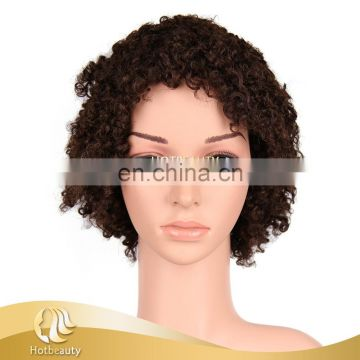 2015 Wholesale cheap different styles human hair full lace wig for women