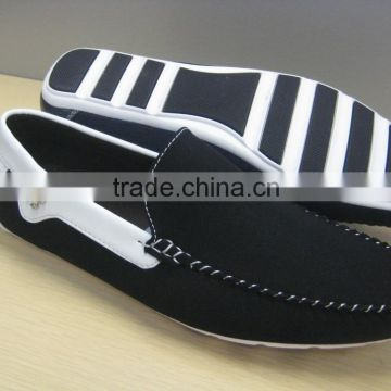 2015 New men's plain style shoes with TPR outsole made in China