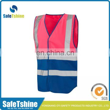 Best selling durable using pink safety vest