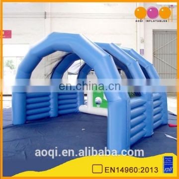 Most polular football shooting inflatable sports game for children