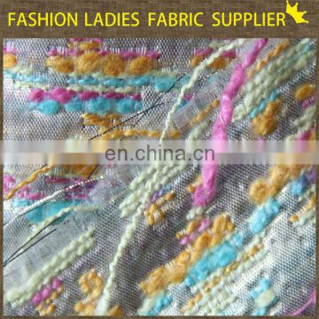 Onway textile 100 polyester tricot brushed fabric,car seat fabric,jacquard woven fabric