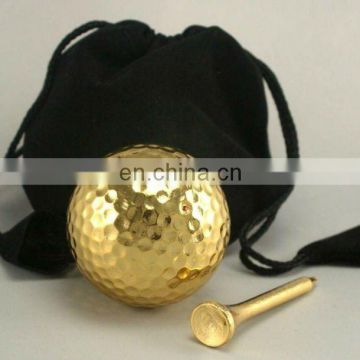 Gold Plated Golf Balls