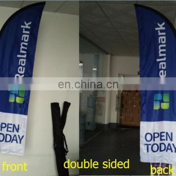 2014 Custom Outdoor advertising flag printing