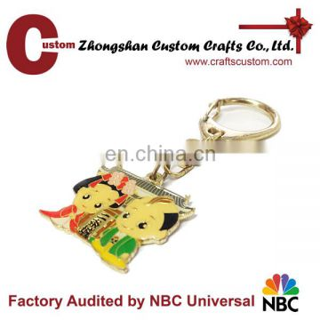 Factory directly sell custom metal key ring holder