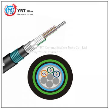 Stranded Loose Tube Armored Cable GYTA53 outdoor optical fiber