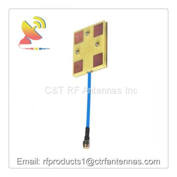 FPV Panel antenna Patch antenna 5.8 GHz 14DBi Video/Audio Receiver Antenna for Long Range