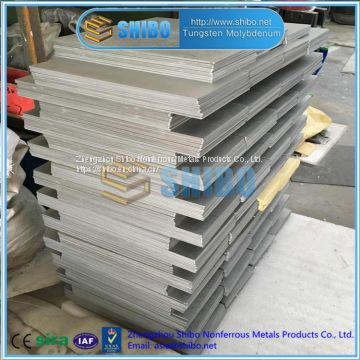 Factory Supply High Temperature Molybdenum Plate, Mo-La plate, MoLa plate for MIM