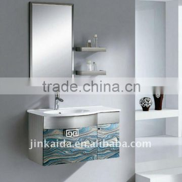 Stainless steel bathroom cabinet bathroom vanity cabinet JYS1102