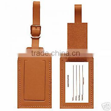 Leather custom luggage tag,baggage tag