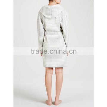 Wholesale Cosy and Comfortable Warm Women Jersey Bathrobe