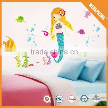 2016 Fashion beautiful 3d floor sticker