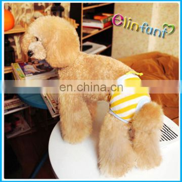 Dog diaper Elinfant reusable washable convince dog physical pant diaper