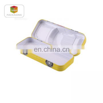 metal tin car shape pencil box/gift pencil tin box for children