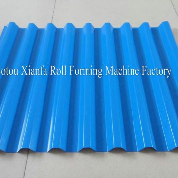 Circular Profile Roofing Panel Roll Forming Machine