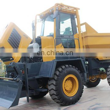 Construction FCY100 10t Loading capacity hydraulic tipper truck 4x4 dump truck