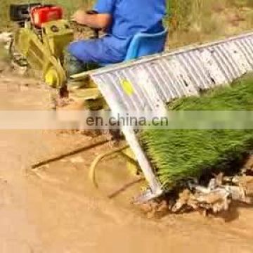 high efficiency manual rice transplanter price for paddy seedling planting