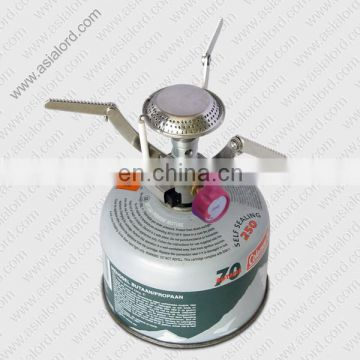 CE Approved Most Popular Single Gas Burner For Camping / Hiking / Fishing
