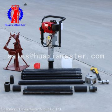 small soil sampling drilling rig Gasoline engine soil drilling rig soil sampling drill machine for sale