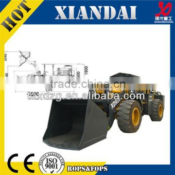 XD926 2Ton 1cbm atv underground ore mining loader scooptram for tunnel Metal mineral mining with CE FOR SALE wheel loader