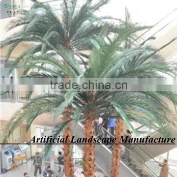 artificial huge decorative tree, artificial metal palm trees