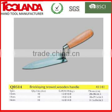 Wooden Float Trowel For Building Construction Of Bricklaying Trowel