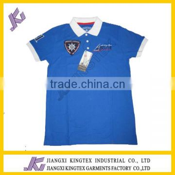 f8c862fad ... Wholesale Cloth Factory Men s Plain Custom Embroidery High Quality 100%  Cotton Men s polo shirts ...