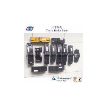 Locomotive Brake Block SGS Proved, High Locomotive Brake Block, High potency new design Locomotive Brake Block