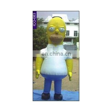 Homer inflatable costume