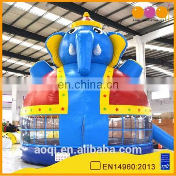 AOQI hard-wearing quality cheapest colorful inflatable bouncer with free EN14960