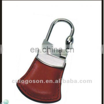 car promotional gift pu blank leather key ring