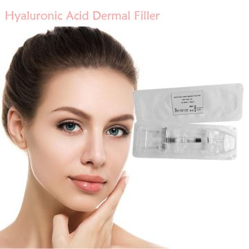 CE certificate marked hyaluronic acid lip dermal filler injections to create fuller lips