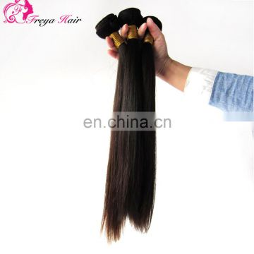 Cristmas hot sale cheap natural color unprocessed 7A brazilian straight hair bundle