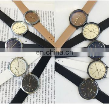 Hot sale china leather watch couple watch mens watch