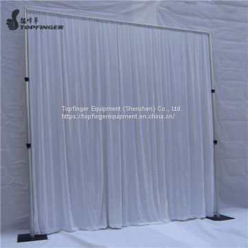 TFR wedding backdrop telescopic drape support pipe and drape system
