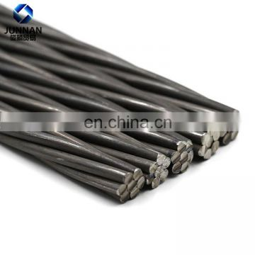 China factory direct sale 19 wire Prestressed Concrete PC Strand for Construction