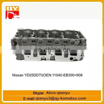 excavator engine parts YD25DDTI(OEN 11040-EB300=908)cylinder head