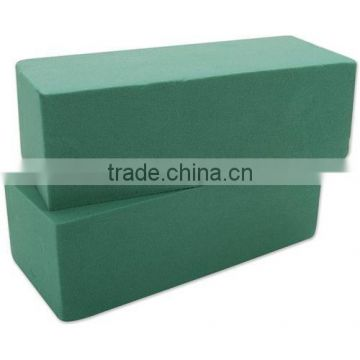 green wet phenolic resin flower foam brick blocks for wedding