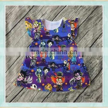 0049d38cbd9 Wholesale carters baby clothes Corpse Bride floral print china import  clothing birthday dress 1 year old girl festival wear of Halloween items  from China ...