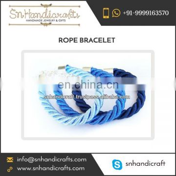 Classy Look Silk Cord Rope Bracelet Manufacturer