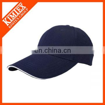 Factory price plain Custom Cotton sports Baseball hat /running cap made in China