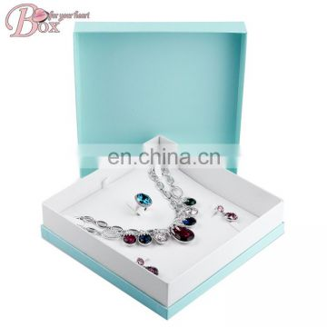 Accept Custom Jewelry Packaging Box with Velvet