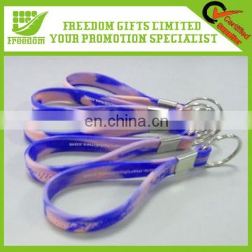 Popular Good Quality Cheap Custom Promotion Silicon Keychain