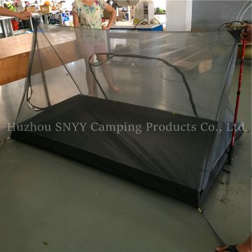 ULTRALIGHT PYRAMID MOSQUITO NET TENT VENTILATE CANOPY