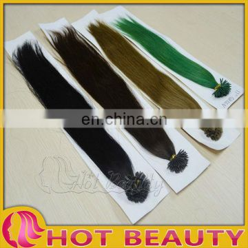 U tip hair human micro braiding hair