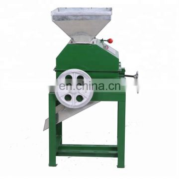 High quality beans press machine and grain flattening machine for hot sale