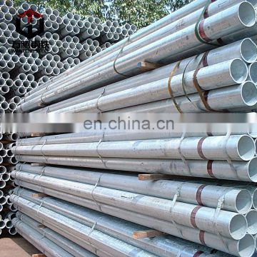 Customized greenhouse and fence post galvanized steel pipe